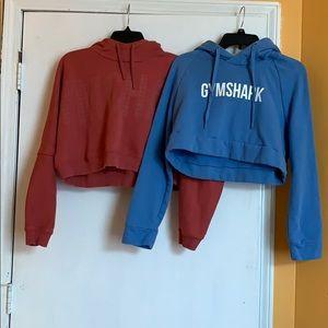 2 gymshark hoodies!!